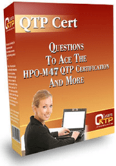 QTP 11 Certification HP0-M47