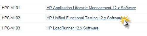 HP Unified Functional Testing 12.x