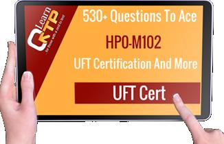 UFT Cert HP0-M102