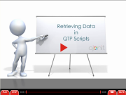 QTP Training: Sample Video on Retrieving Data in QTP Scripts