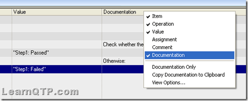 Copy the auto documentation