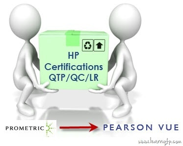 QTP Certification Update: Migrated from Prometric to Pearson VUE
