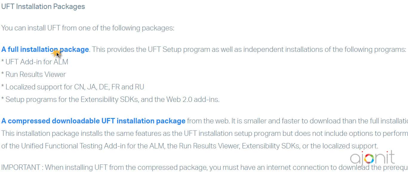 Download UFT 14 51 (formerly QTP) - Trial/Evaluation/Demo Version