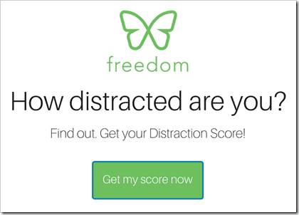 How distracted are you? Click here to take a quiz
