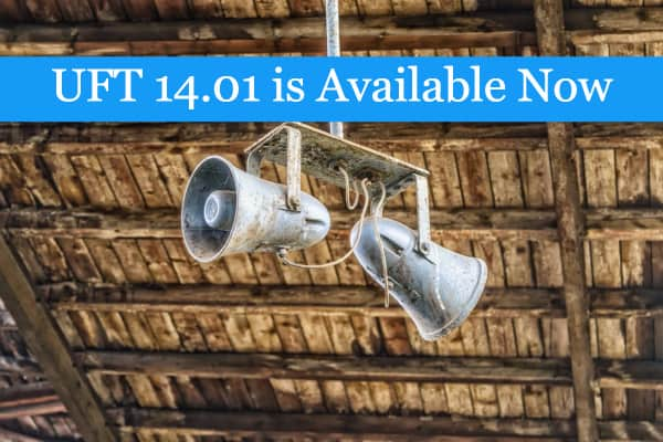 Announcing … The New Patch UFT 14.01 With Tons of Enhancements