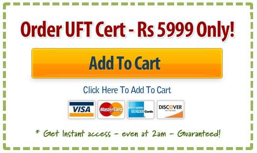 uft certification mock cert