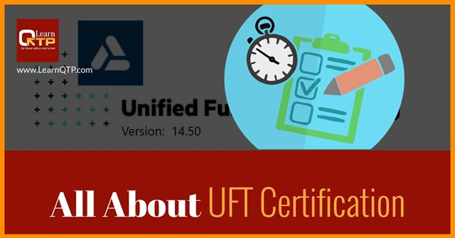 uft certification exam want complete